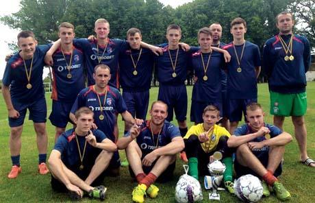 Futbolo turnyro taurė atiteko kybartiečiams