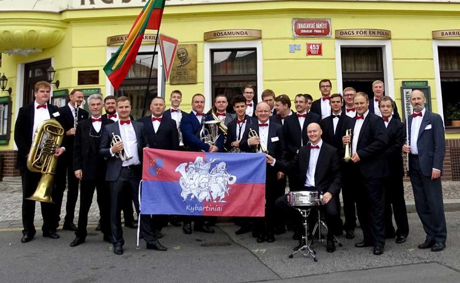 """""""Kybartiniai"""" savo gimtinę garsino Čekijoje"""