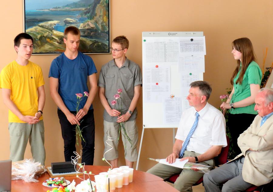 Kybartų gimnazistams – mokslininkų premijos