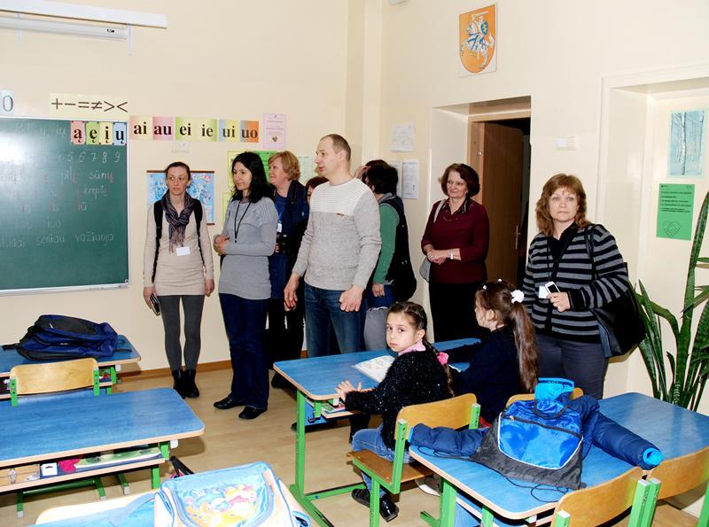 Progimnazijoje lankėsi svečiai iš Bulgarijos