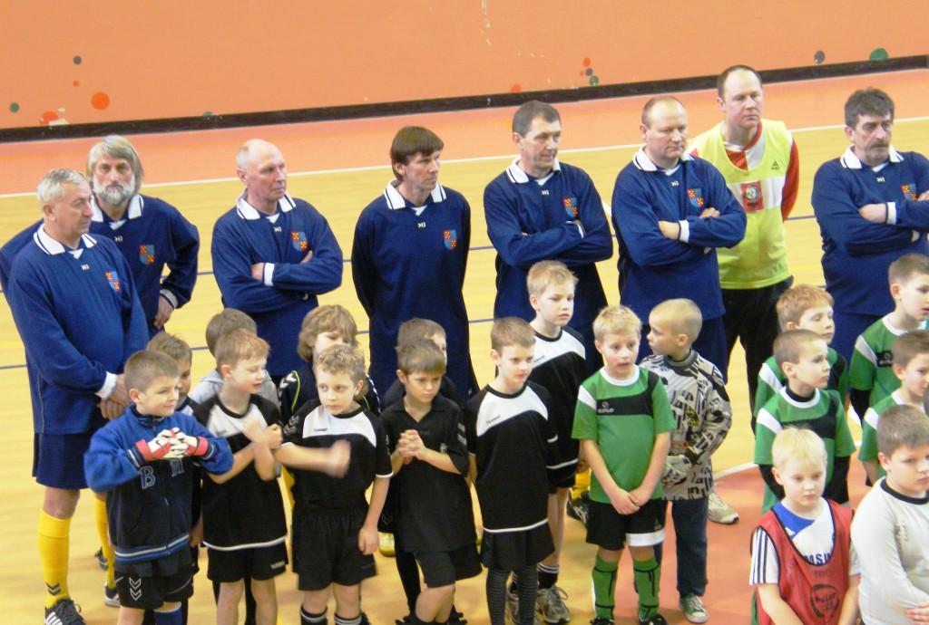 Tarptautinis jubiliejinis R. Karkos atminimo vaikų futbolo turnyras Kybartuose