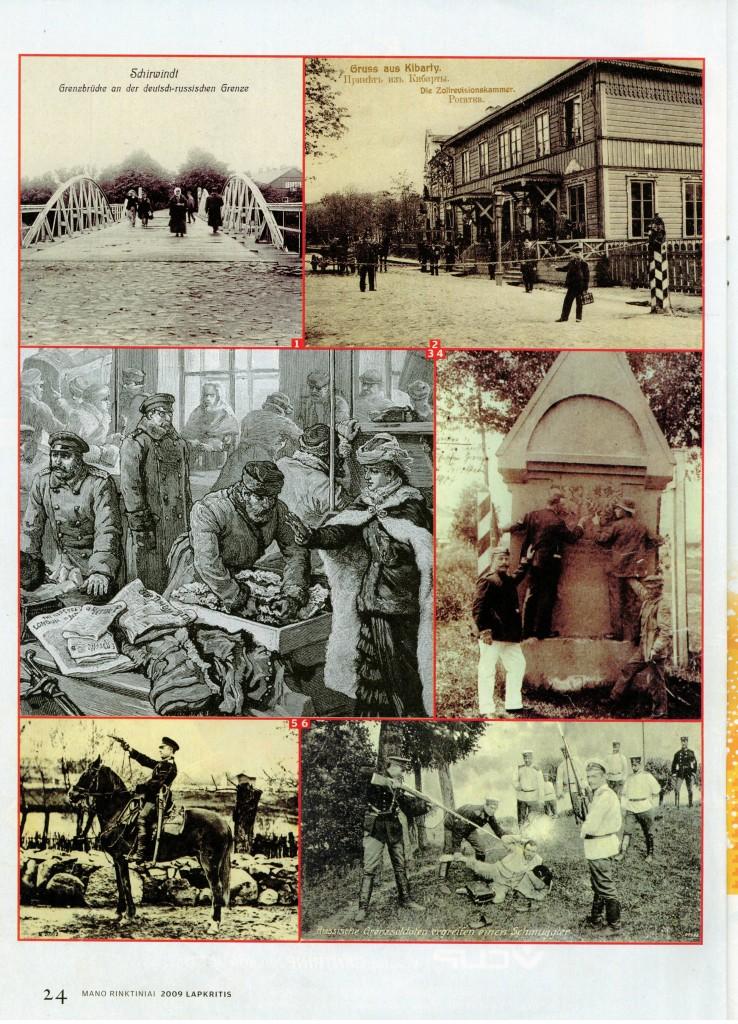 Kontrabandos karai XIX a. Lietuvoje