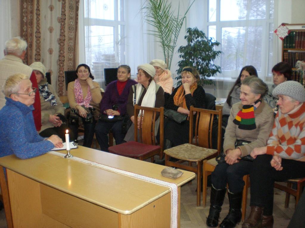 Susitikimas su buvusia Lietuvos radijo žurnaliste Leonora Abraityte – Lione Starinskiene