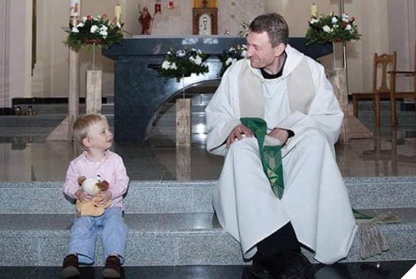 """Nesuabejojau pasirinkęs kunigystę"""