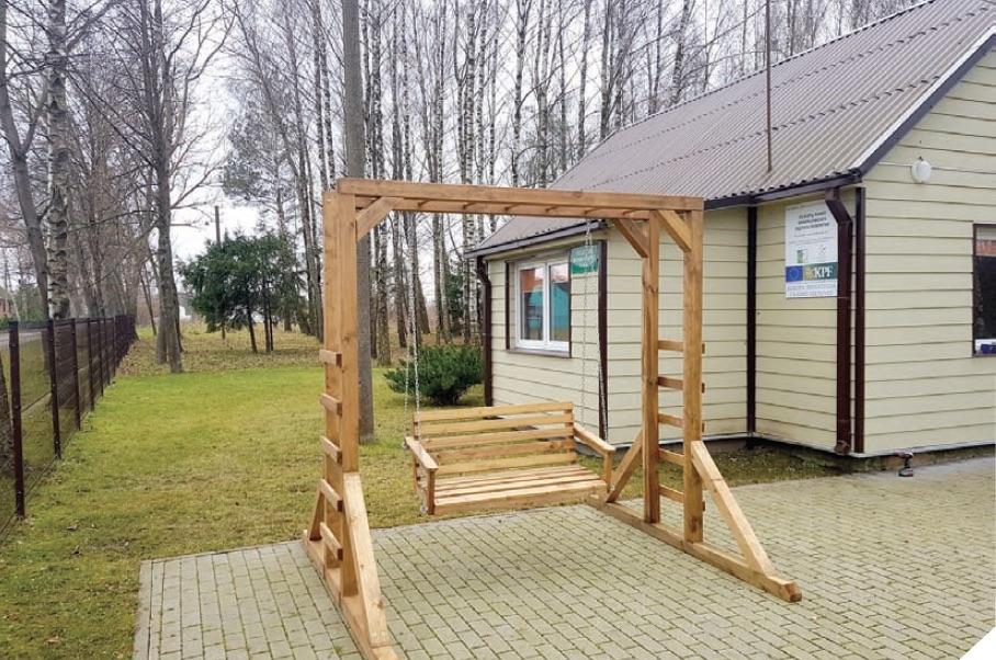 Seniūnijos kaimų bendruomenės atnaujins viešąsias erdves