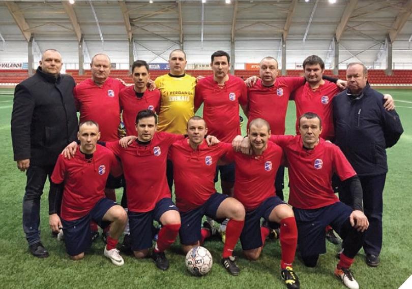 """Turnyro čempionai – """"Sveikatos"""" futbolininkai"""