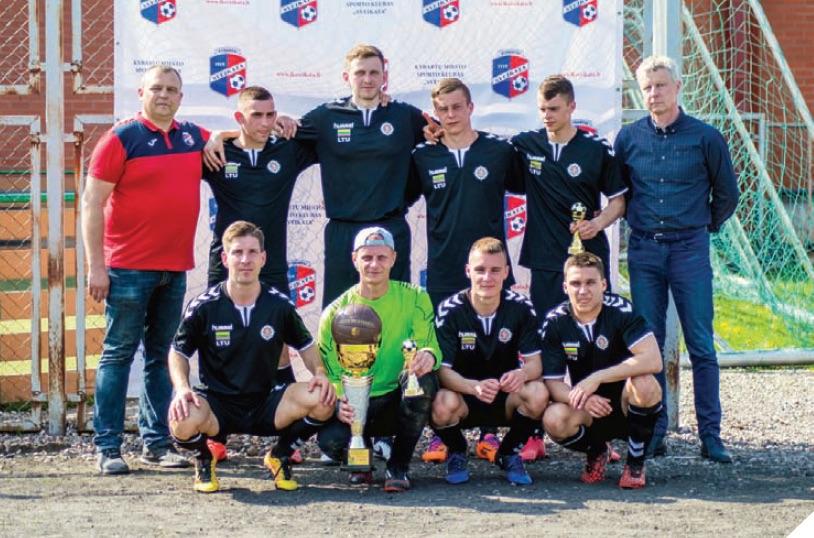 Futbolo turnyrą skyrė klubo 100-mečiui