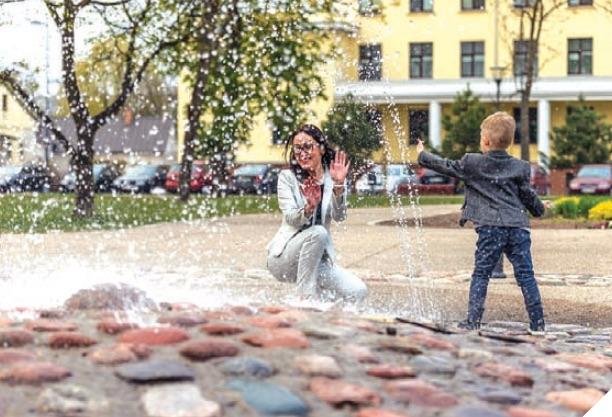 Kybartiečio gimnazisto projektas nudžiugino trijų kartų mamas
