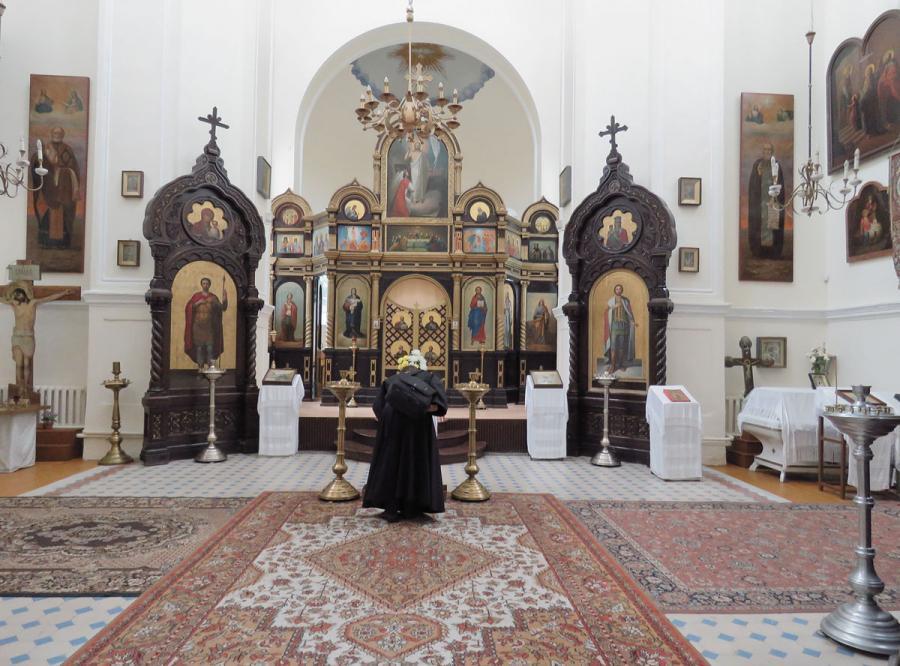 Kybartų cerkvė vis atviresnė turistams