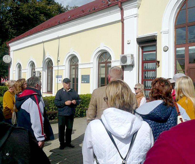 Geležinkelininkai į Kybartus prikvietė dešimtis lankytojų
