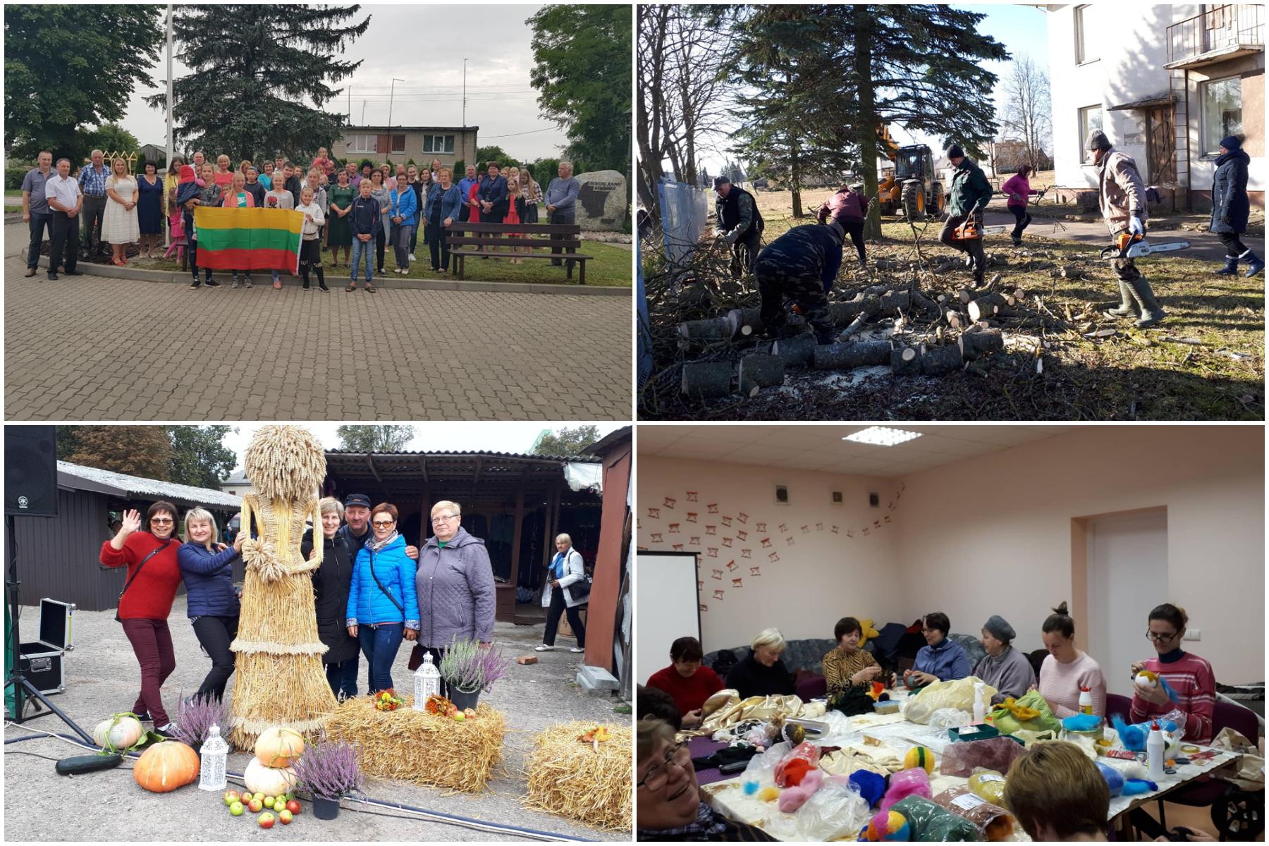 2019-aisiais Matlaukio kaimo bendruomenė išjudino ir jauną, ir seną