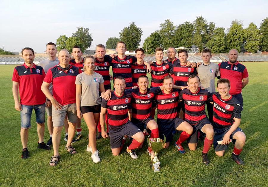 Futbolininkų rankose – pirmasis sezono trofėjus