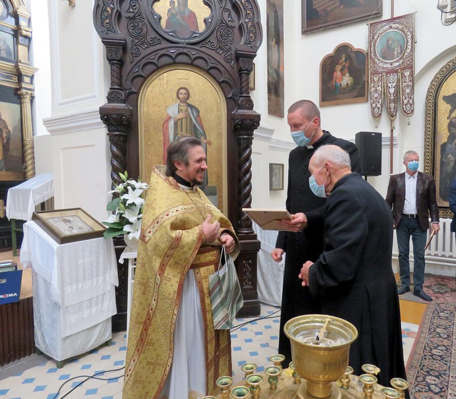 Kybartų cerkvė atšventė garbingą jubiliejų