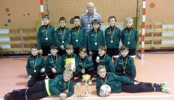 Dešimtmetį atšventęs sporto klubas buria rajono jaunimą