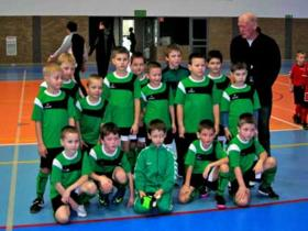 """Sporto klubo """"Kybartų jaunystė"""" mažiausieji futbolininkai džiaugiasi išvyka į Lenkiją"""
