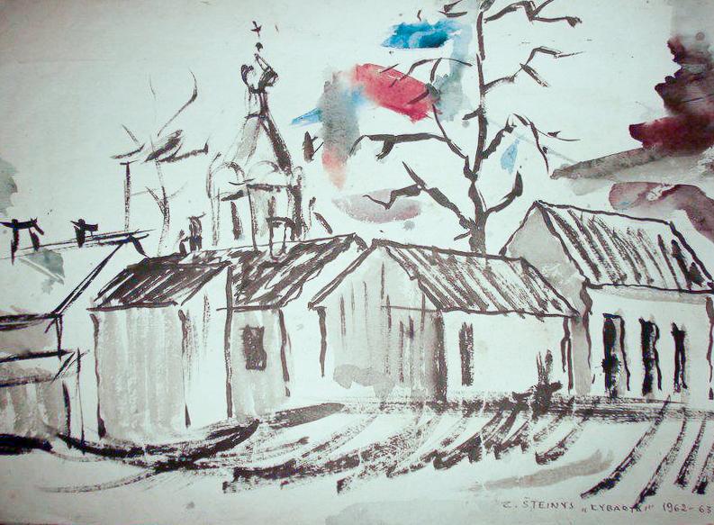 Zenono Šteinio piešinių galerija