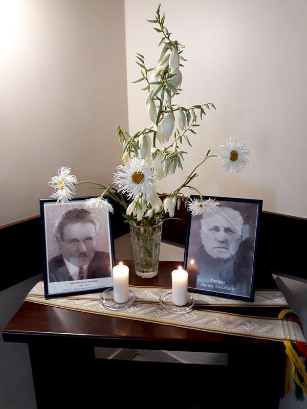 Pagerbtas brolių Vailokaičių atminimas