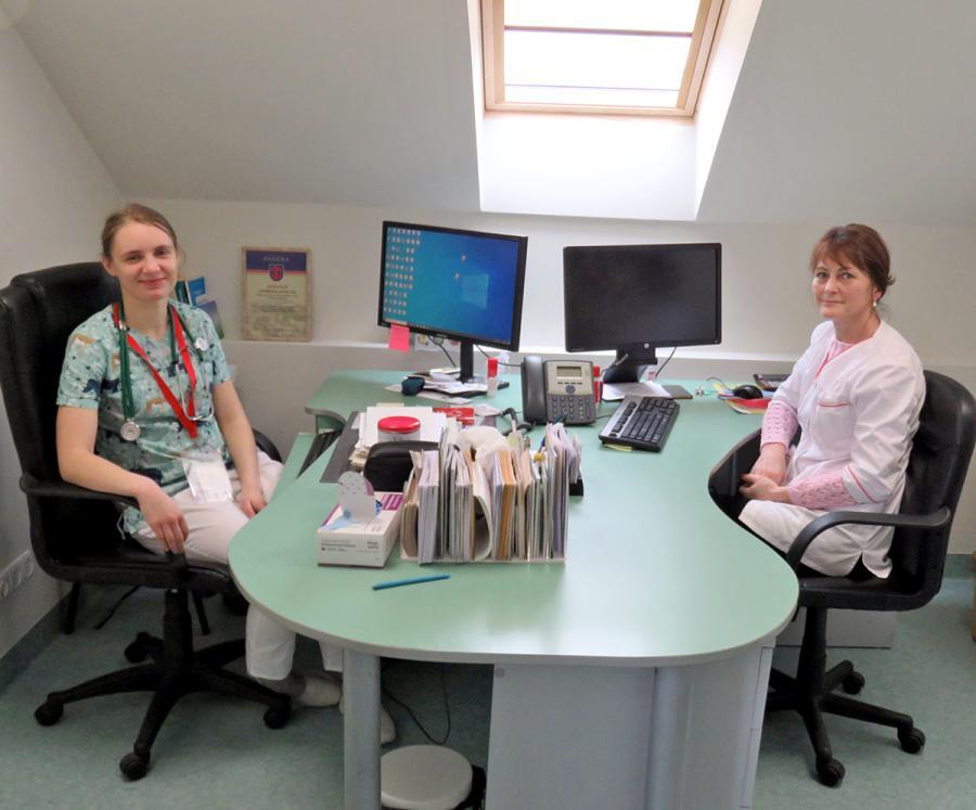Atsinaujinęs vaikų ligų kabinetas laukia mažųjų pacientų
